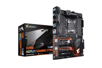 Gigabyte Aorus X299 AORUS Gaming 3 Pro ATX X299 Chipset for Intel X series Socket LGA2066