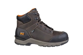 Timberland Pro Mens Hypercharge Lace Up Safety Boot (Brown)