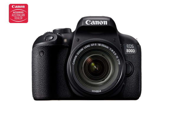 Canon EOS 800D DSLR Camera with EFS18-55mm f/4-5.6 IS STM Single Lens
