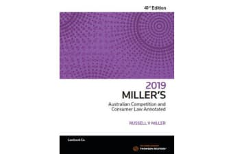 Miller's Australian Competition & Consumer Law Annotated