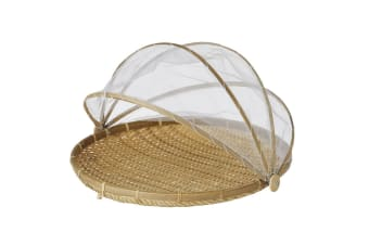 Davis & Waddell Collapsible Mesh Food Cover Outdoor Picnic Fly Protector w  Tray