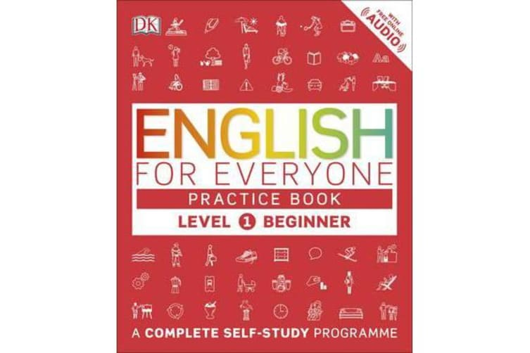 English for Everyone Practice Book Level 1 Beginner - A Complete Self-Study Programme