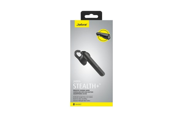 Jabra Stealth Bluetooth Headset (Black)