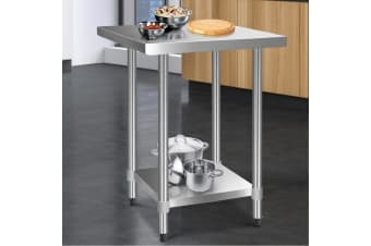 Stainless Steel Kitchen Benches Work Bench Food Prep Table 760x760