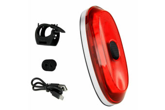 Antusi A1S IP65 Bike Bicycle Intelligent Brake Taillight 700mAh Lithium USB Rechargeable