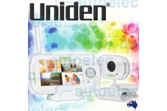 "UNIDEN BW3101 DIGITAL WIRELESS 4.3"" VIDEO BABY MONITOR NIGHT VISION"