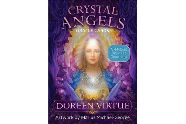 Crystal Angels Oracle Cards - A 44-Card Deck and Guidebook