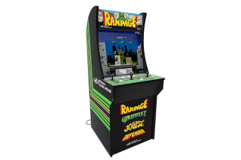 Arcade Machine Rampage Retro Video Game Upright Arcade1UP