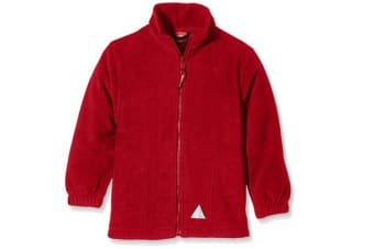 Result Kids Micron Fleece Jacket (Royal Blue) (6-8 Years)