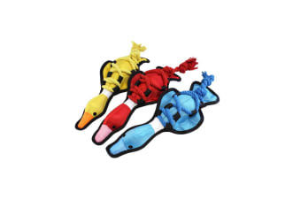 Happy Pet 1 Cross Rope Duck Dog Toy - ASRTD (Assorted)