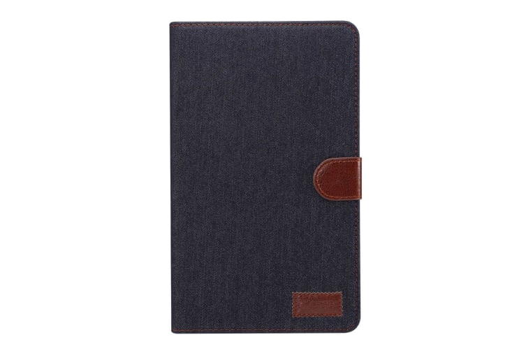 For Samsung Galaxy Tab A 8.0 SM-T380 SM-T385 Case Denim Texture Leather Cover