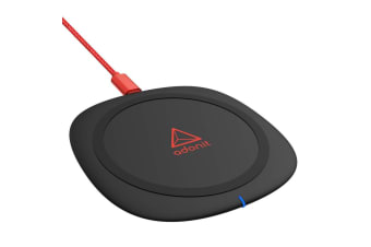 Adonit Wireless Fast Charging Qi Charger Pad/Mat for Apple iPhone/Samsung Black