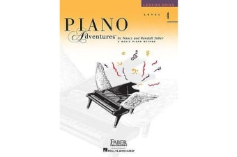 Piano Adventures - Level 4 - Lesson Book (2nd Edition)