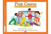 Alfred's Basic Piano Prep Course Technic, Bk a - For the Young Beginner