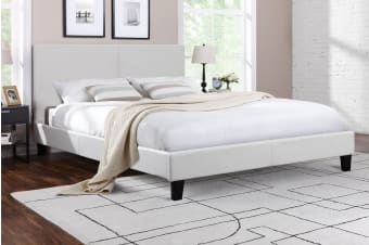 Ovela Bed Frame - Edeva Collection (White