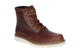 Caterpillar Mens Chronicle Leather Lace Up Boot (Dogwood)