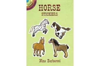 Horse Stickers - Dover Little Activity Books