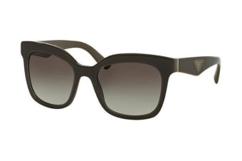 Prada TRIANGLE PR24QS - Brown (Grey Shaded lens) Womens Sunglasses