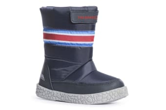 Trespass Boys Alfred Touch Fastening Snow Boots (Navy) (10 Child UK)