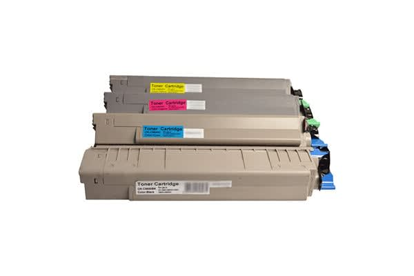 C8600 Premium Generic Colour Toner Set