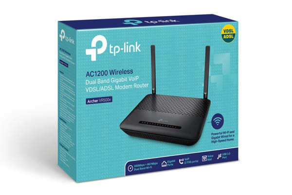 TP-Link Archer AC1200 Wireless ADSL/VDSL Modem Router (ArcherVR500V)