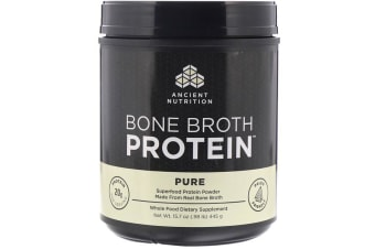 Dr. Axe / Ancient Nutrition Bone Broth Protein - Pure 445g