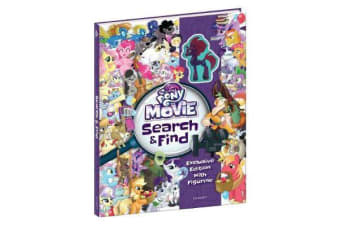 My Little Pony Movie - Search and Find with Toy