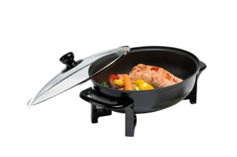 Maxim Compact Oval Electric Frypan (BR06)