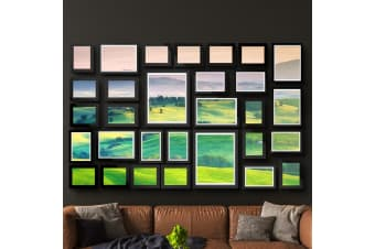 Artiss Black Picture Photo Frames Frame Wall Set Collage Home Decor Gift 30pcs