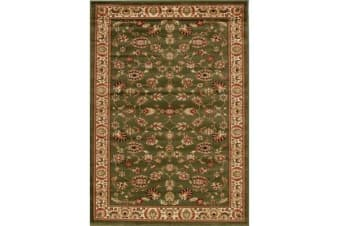 Traditional Floral Pattern Rug Green 170x120cm