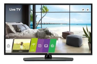 "LG COMMERCIAL HOTEL (UU665H) 43"" UHD TV, 3840x2160, HDMI, LAN, SPKR, PRO:CENTRIC"