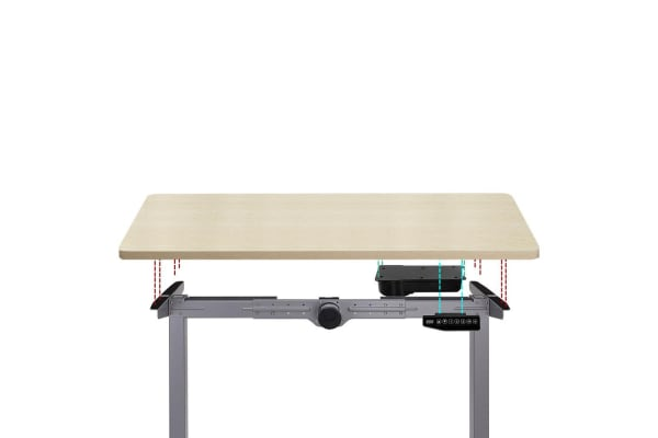 Artis Roskos II Electric Motorised Height Adjustable Standing Desk Office 100cm