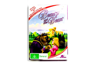 Beauty and the Beast Collection - CD AND DVD -Kids Region 4 DVD NEW