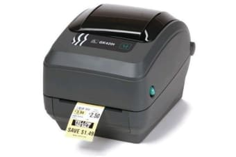 Zebra GK420T 203dpi Ethernet USB desktop Barcode label Printer Direct Thermal/Thermal Transfer