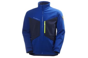 Helly Hansen Mens Aker Softshell Jacket (Egyptian Blue/Evening Blue)