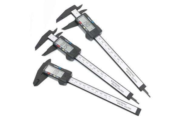 Digital Calipers 150mm 6'inch LCD display