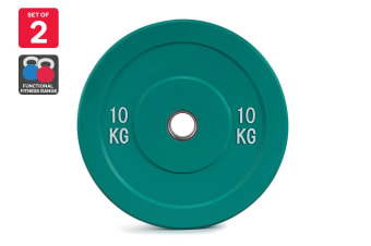 Set of 2 Fortis Bumper Plate (10KG)