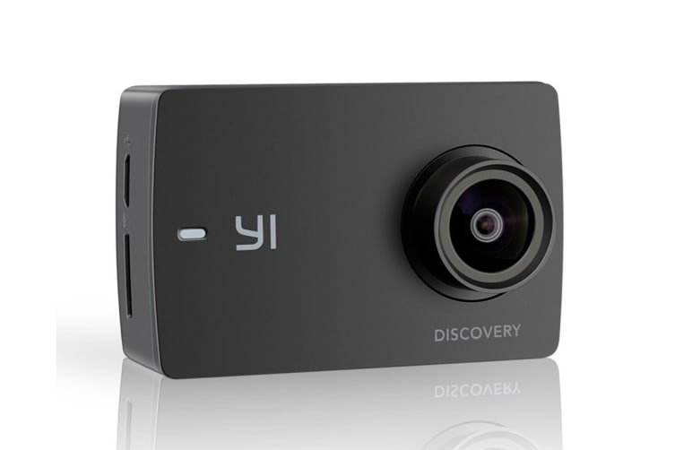 YI Discovery 4K Action Camera (Black)