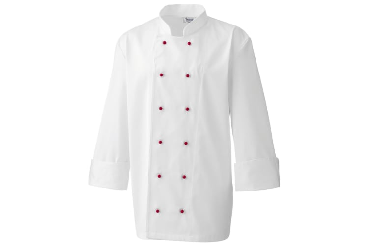 Premier Chefs Jacket Studs For PR651 & PR655 / Workwear (Pack Of 12) (Red) (One Size)