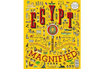 Egypt Magnified - With a 3x Magnifying Glass