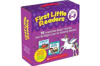 First Little Readers Parent Pack: Guided Reading Levels E & F - 16 Irresistible Books That Are Just the Right Level for Growing Readers