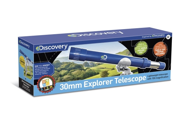 Discovery Kids 30mm Explorer Telescope
