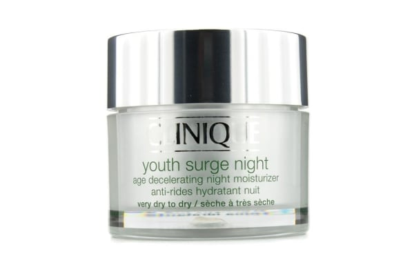 Clinique Youth Surge Night Age Decelerating Night Moisturizer - Very Dry To Dry (50ml/1.7oz)