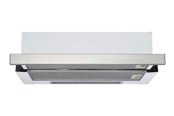 Residentia 60cm Twin Motor Slideout Rangehood with Halogen Lighting (SL63R)