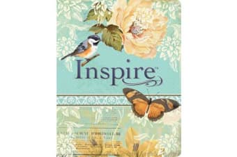 NLT Inspire Bible - The Bible for Creative Journaling
