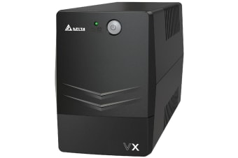 DELTA VX Line Interactive 600VA/360W Mini Tower UPS, 2x AU Outlet, 10A Input