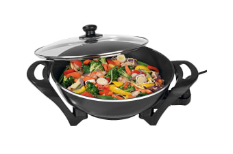 Healthy Choice 4.5L Large Electric Wok