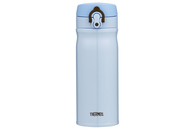 Thermos 400ml Stainless Steel Vacuum Insulated Direct Drink Bottle - Blue