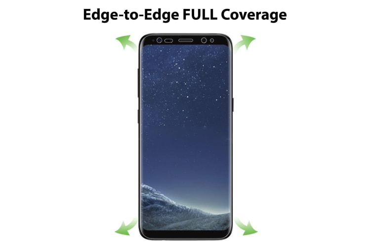 [3 Pack] Samsung Galaxy S8+ Ultra Clear Edge-to-Edge Full Coverage Screen Protector Film by MEZON – Case Friendly, Shock Absorption (S8+, Clear) – FREE EXPRESS