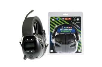 Bluetooth PTL AM FM 3.5mm in LCD with Push-To-Listen Bullant Radio With LCD Display